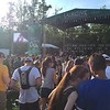 "Mark Meszoros -- The News-Herald<br /> Fans watch The Revivalists play the Laurel Stage. The band closed the set with their best-known song, ""Wish I Knew You,"" and a Beatles cover."