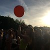 Mark Meszoros -- The News-Herald<br /> It's just not a music festival without beachballs.