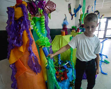 Underwater theme at Westminster Central School
