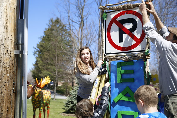 VSNB create public art for North Bennington.