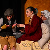 KRISTOPHER RADDER - BRATTLEBORO REFORMER<br /> The cast of Willy Wonka runs through the play at the Bellows Falls Union High School on Monday, March 19, 2018.