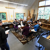 Kayla Rice/Reformer<br /> Musicians from the Yellow Barn rehearse at Greenwood School in Putney on June 20th.