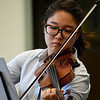 Kayla Rice/Reformer<br /> Chelsea Kim rehearses at Greenwood School in Putney with the Yellow Barn Young Artists Program on June 20th.