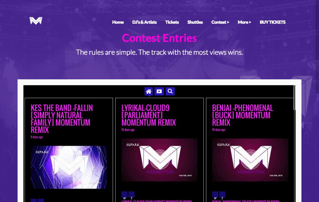 Momentum Carnival Contest