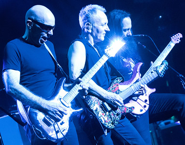 Joe Satriani, Phil Collen, John Petrucci.