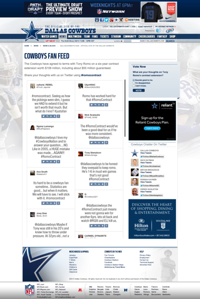 Dallas cowboys Campaign