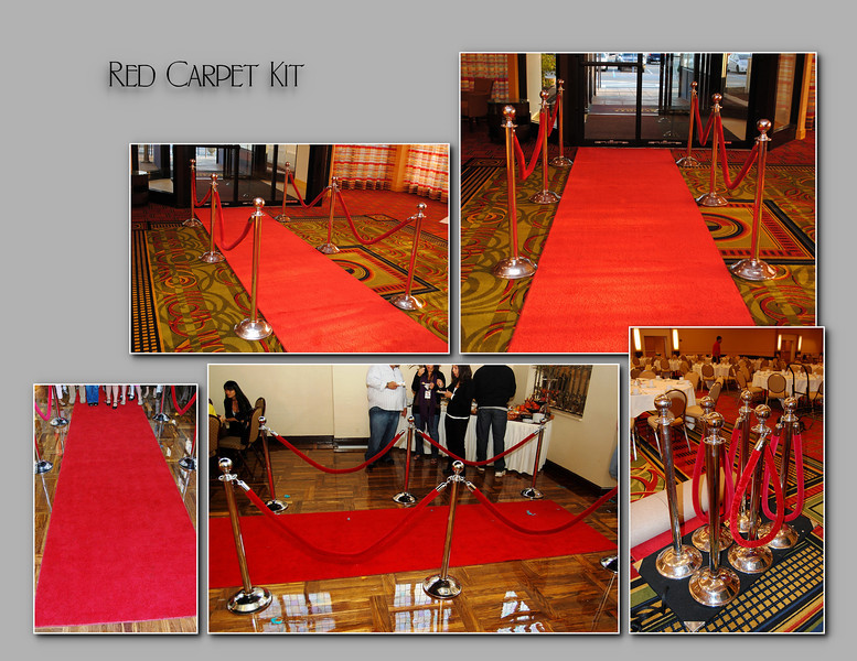 Red Carpet Kit - $375