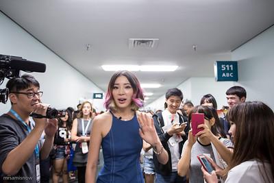 Irene Kim at KCON 2015