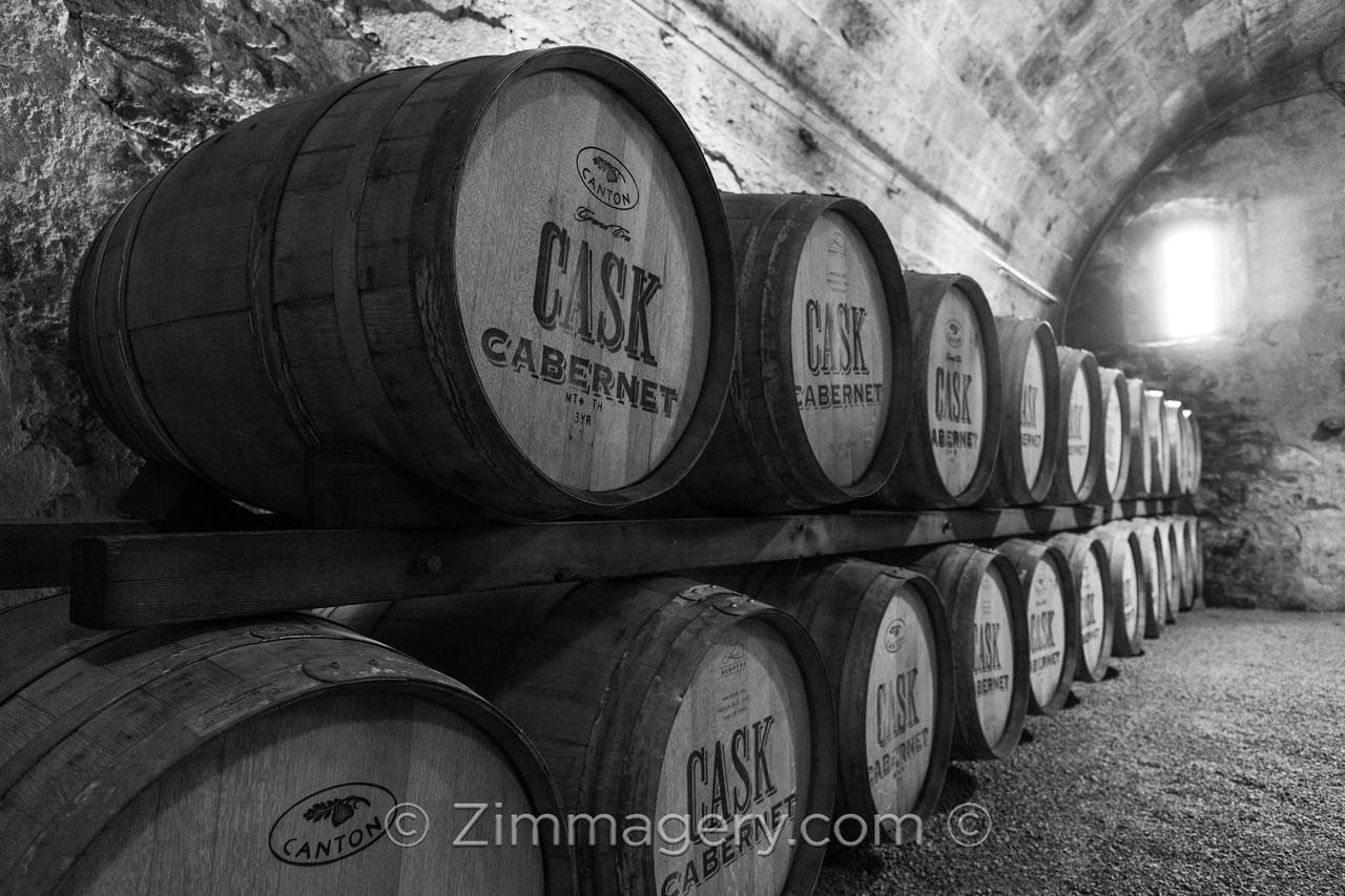 Winery Cellar, Napa, CA