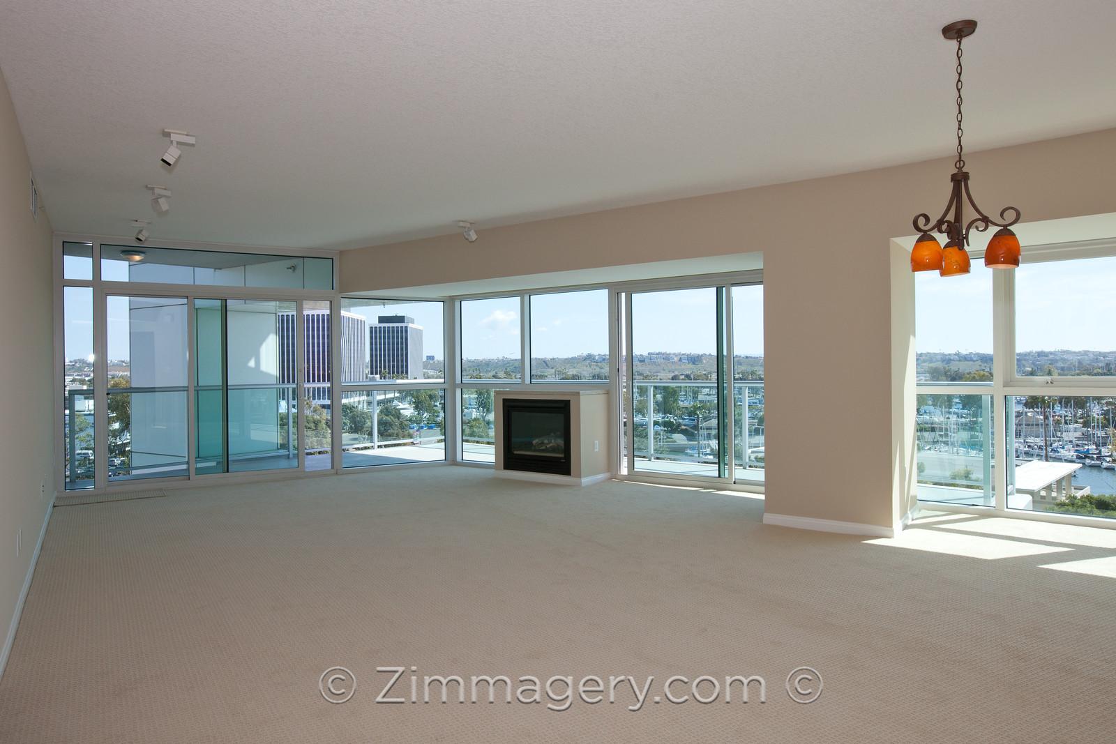 Real Estate MLS Shot, Living Room, The Regatta
