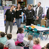 Priest Street School has partnered with the United Way and AIS Corporation to start a mentorship literacy program that will start in September for the 2017 /18 school year. After they announced the partnership they all got a tour of the school. In one of the classrooms they got to see the kindergarten students learning. SENTINEL & ENTERPRISE/JOHN LOVE