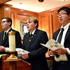 Michael, Jacob and Jonathan lead the Psalm