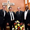 Our postulant class: Michael, Jonathan, Jacob and Celsus