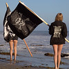45surf Bikini Swimsuit Model Goddesses Pirate Flags Beauty Beautiful :