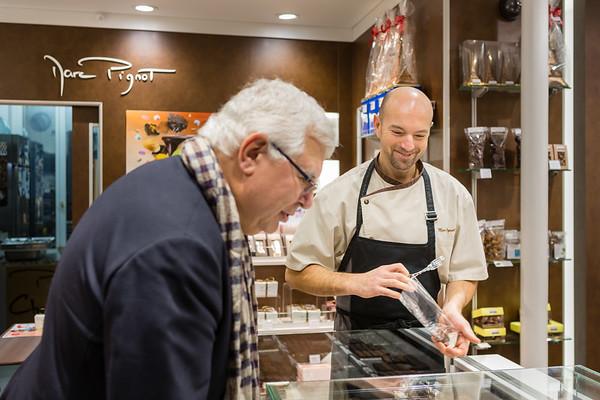 Marc Pignot, Maître artisan chocolatier, Paris XVII.  Tous droits réservés LIGHT EX MACHINA.
