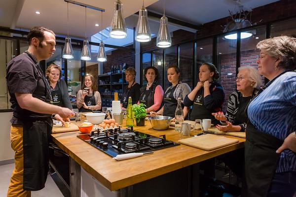 Cours de cuisine, Cook'n with Class.  Tous droits réservés LIGHT EX MACHINA