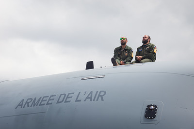 Paris Air Show - 17-20  June 2019. French Air Force watching Rafale presentation.  © 2019  Alexandre - LIGHT EX MACHINA / THALES, All rights reserved.