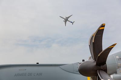 Paris Air Show - 17-20  June 2019. Inflight presentation.  © 2019  Alexandre - LIGHT EX MACHINA , all rights reserved.