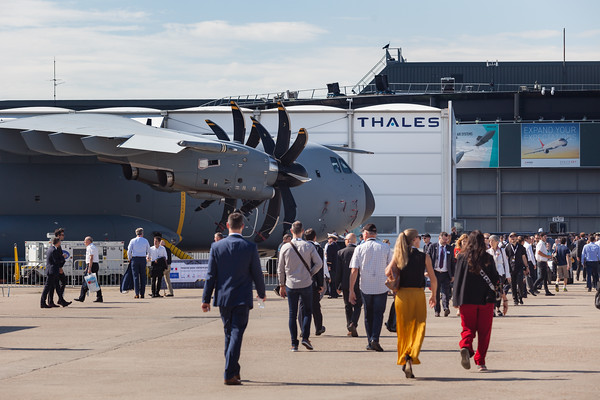 Paris Air Show, 17-20  June 2019.  Photographic cover for the Thales company.  © 2019  Alexandre - LIGHT EX MACHINA , all rights reserved.