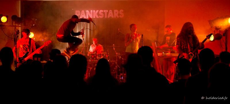 Photo de concert |  Pankstars sur scène en live