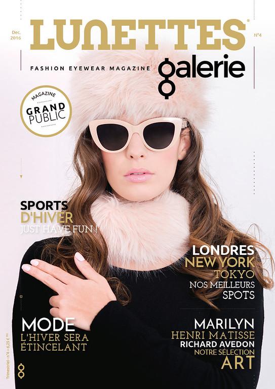 Editorial - magazine Lunettes Galerie -