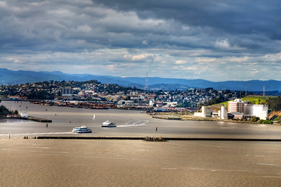 Overlooking Vallejo & the Mare Island Straits