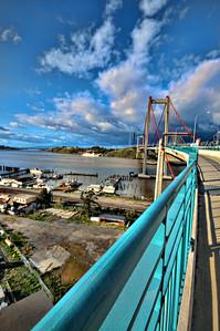 Zampa Bridge Vallejo CA. 1