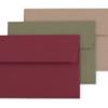 Red, Green, Craft Envelopes
