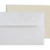 Linen Envelopes: White and Cream