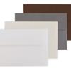 Pearl Envelopes: White, Cream, Steel, and Bronze