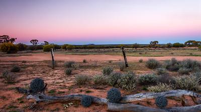 Sunset Charles Darwin Reserve WA- 2224