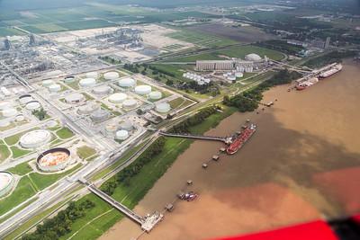 Marathon Petroleum Refinery's Tank Farm