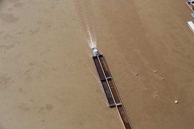 Barge Traffic, Mississippi River