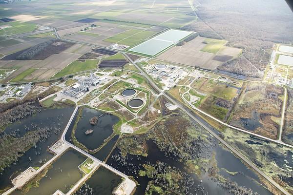 Aerial Images - Bayou Corne Sinkhole 1-27-13