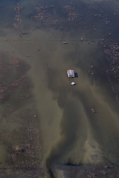 Aerial Images of Louisiana - Post Hurricane Isaac