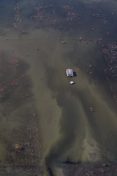 Aerial Images of Louisiana - Post Hurricane Isaac
