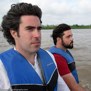 Paul Orr, The Lower Mississippi RIVERKEEPER and his ever vigilant brother Michael.