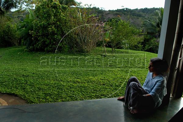 Jennifer S. Tibbaut, fazenda Vera Cruz, cooperativa Cabruca, Una, Bahia, Brazil, August 6, 2009. (Austral Foto/Renzo Gostoli)