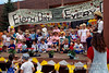 Young Children Singing at an Earth Day Festival, Durango, Colorado, USA, North America