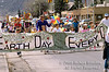 Children in an Earth Day Festival Parade, Durango, Colorado, USA, North America