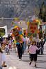 Children in an Earth Day Festival Parade, Durango, Colorado, USA, North America
