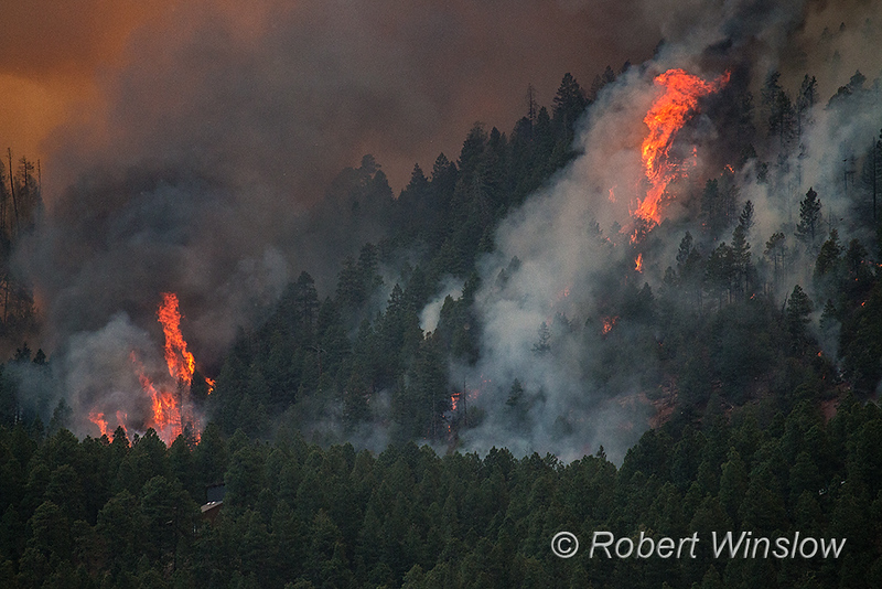 416 Fire, Durango, La Plata County, Colorado, USA, North America