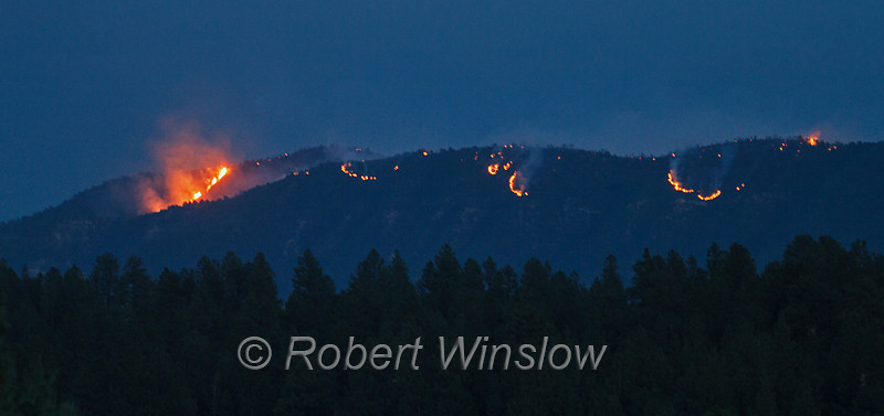Air Park Fire, Durango, Colorado