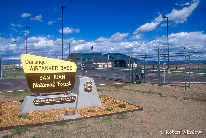 Durango Air Tanker Base, San Juan National Forest, US Department of Agriculture, La Plata County Airport, Durango, Colorado