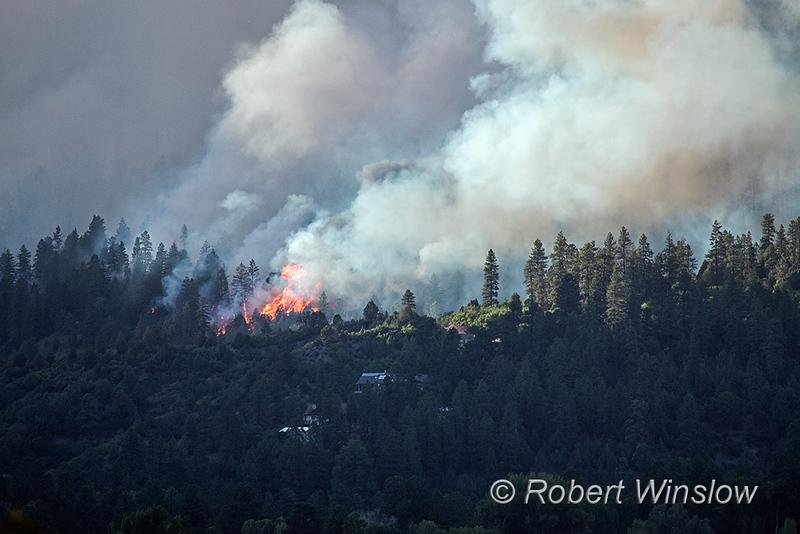 416 Wildfire, Durango, La Plata County, Colorado, USA, North America