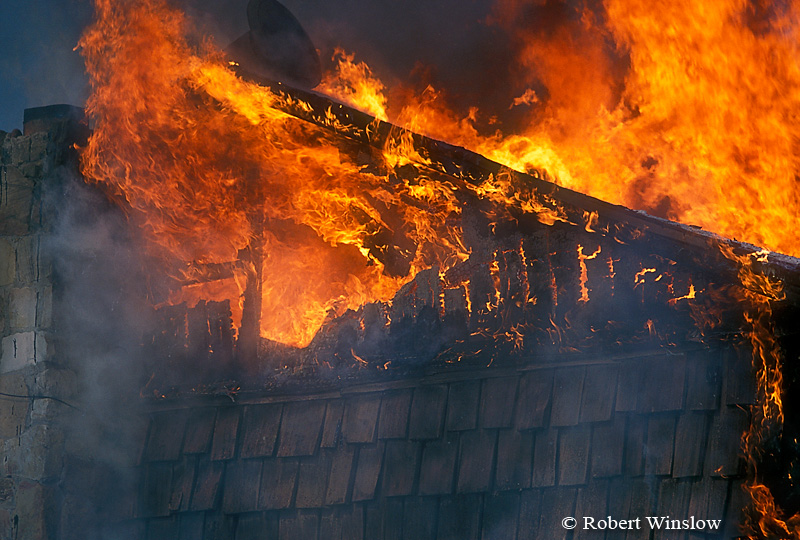 Detail of House on Fire, Colorado
