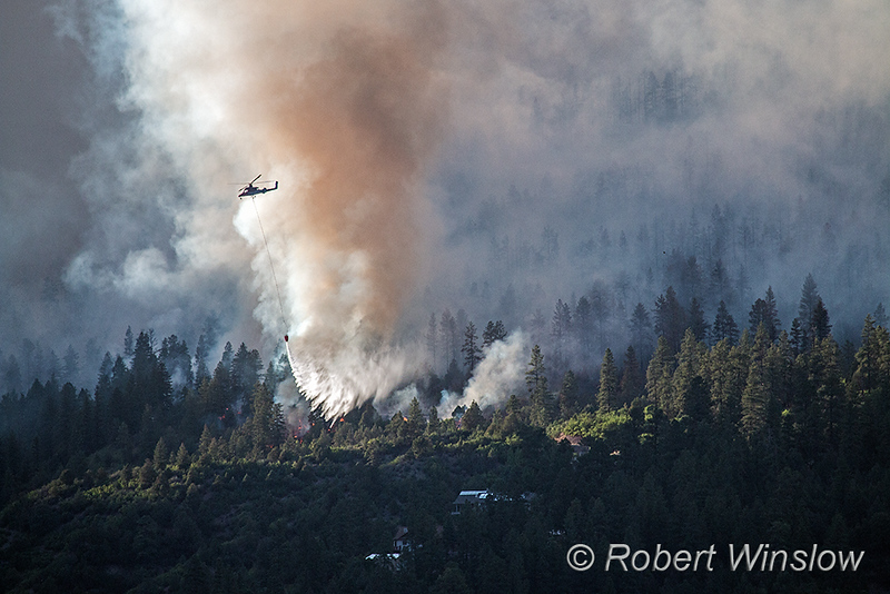 416 Wildfire, Durango, La Plata County, Colorado, USA, North America