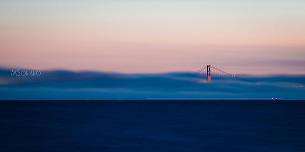 Golden Gate Bridge Fog by Marvin Soriano