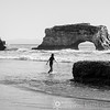 Testing the Waters at Natural Bridges State Beach