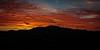 Mt Diablo Red Sunrise